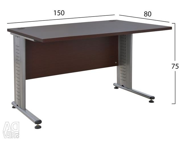 PROFESSIONAL OFFICE HM2045.02 WENGE 150X80X75