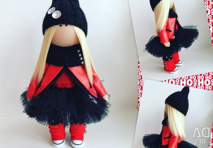 Handmade interior doll