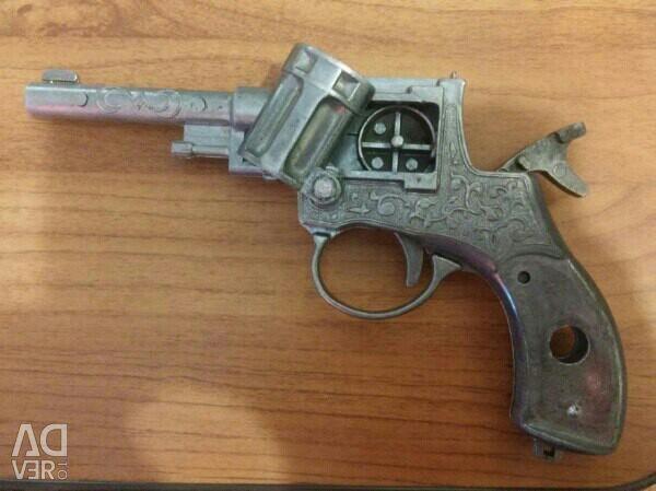 Toy gun aluminum USSR time