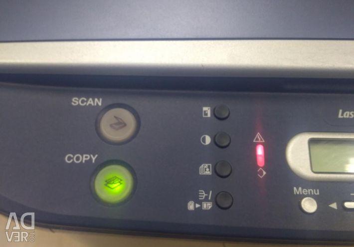 Βάση λέιζερ CAN MF 3110 που χρησιμοποιείται υπό αποκατάσταση