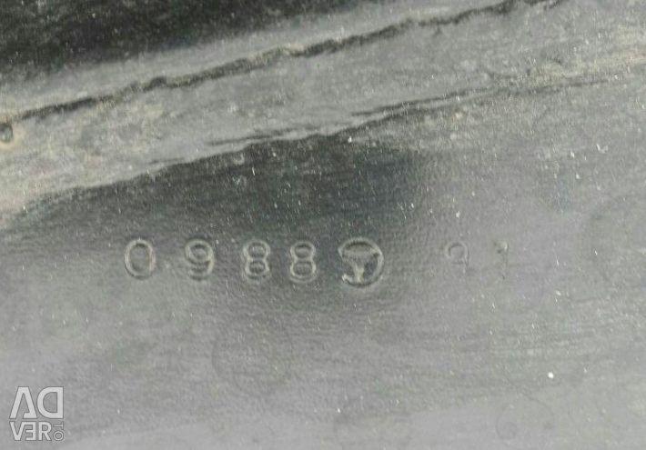 Ο βραχίονας ενισχυτή οπισθίου προφυλακτήρα Mercedes Benz W164
