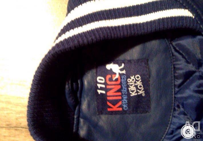 Kiki & koko leather jacket