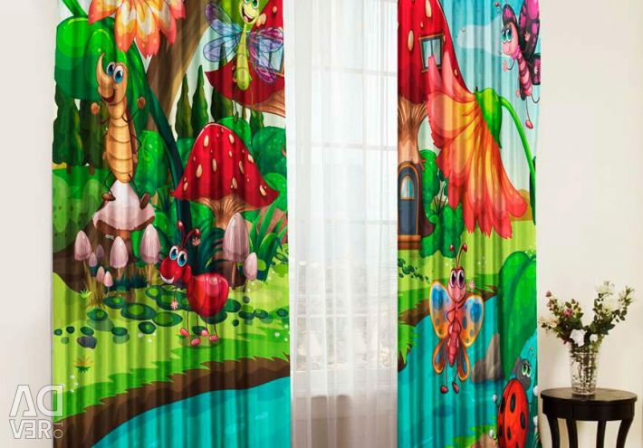 Photo curtains and photo tulle