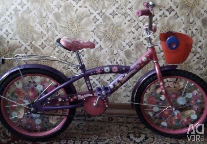 Велосипед для принцеси