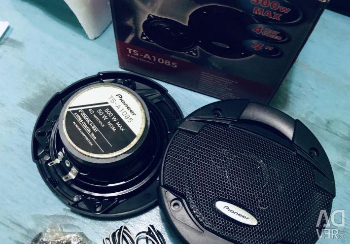 Round speakers pioneer cars