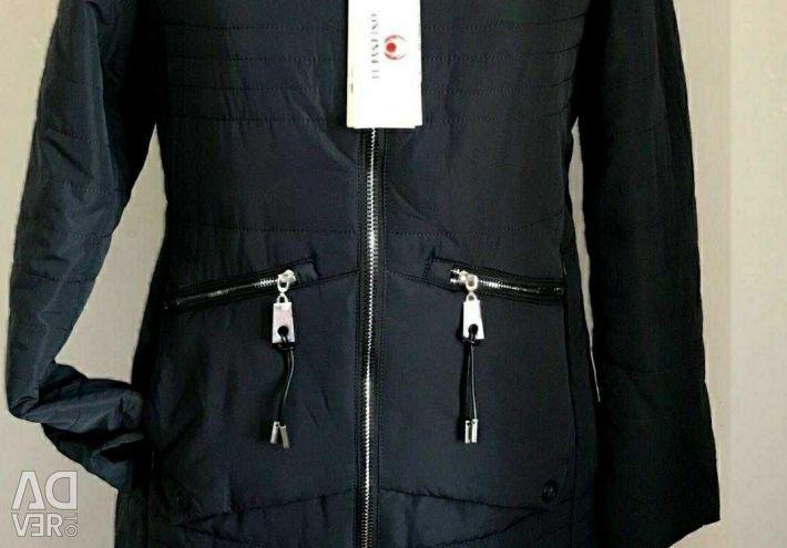 Jacheta în jos nouă. Dimensiunea 50-52