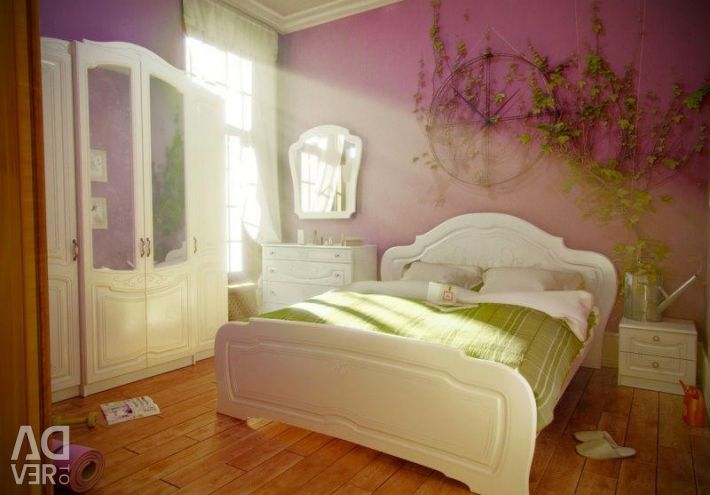 Sleeping set OLGA white gloss