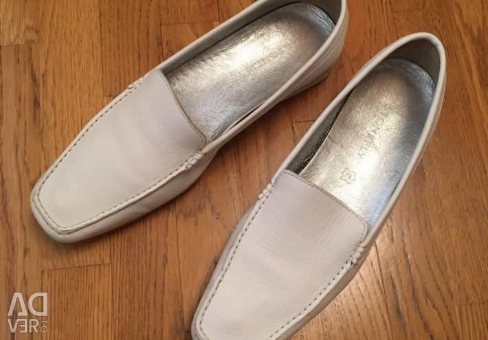 Moccasins Italy leather 41 size