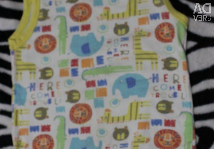 Детские вещи пакетом размер 68-80