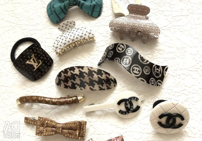 Barrettes in assortment