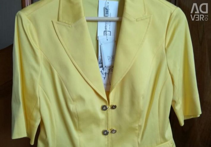 New summer yellow jacket jacket