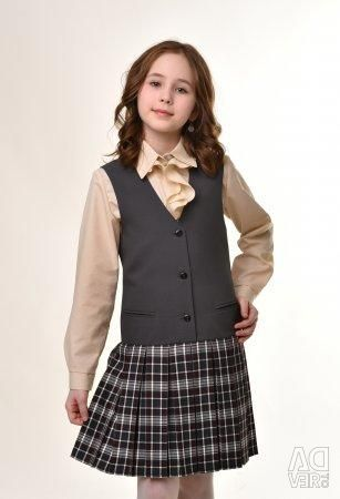 New school dress for girls