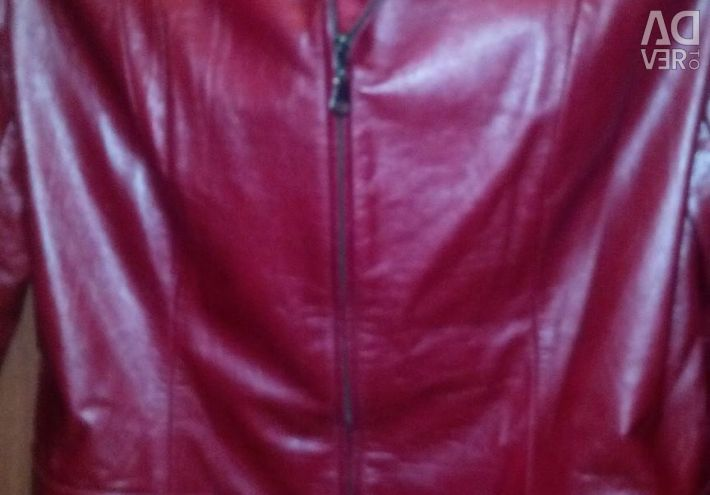 Піджак шкіряний