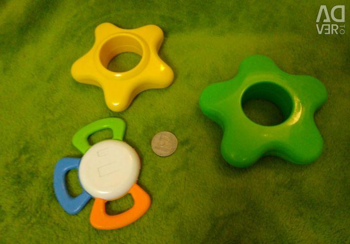 Jucării educaționale de la 0+