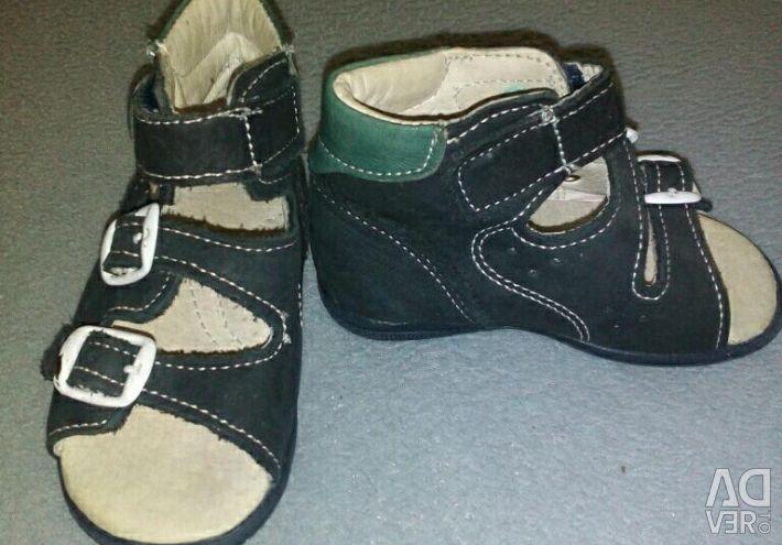Orthopedic footwear for children.