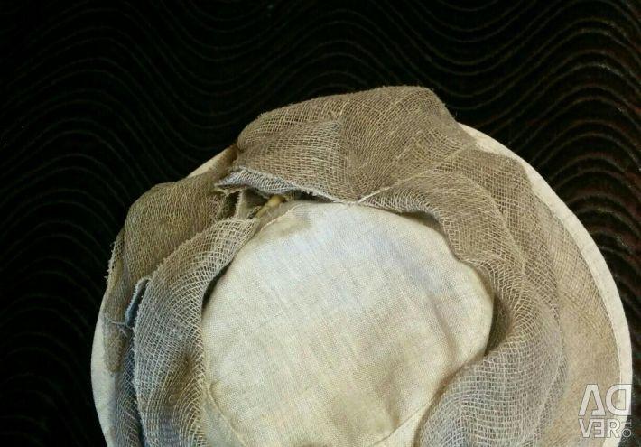 Γυναικείο καπέλο από φυσικές ίνες