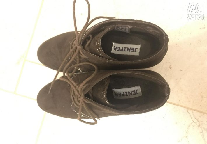 Suede shoes 36 size