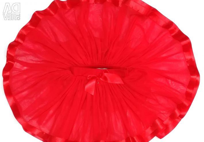 Новая, очень пышная юбка