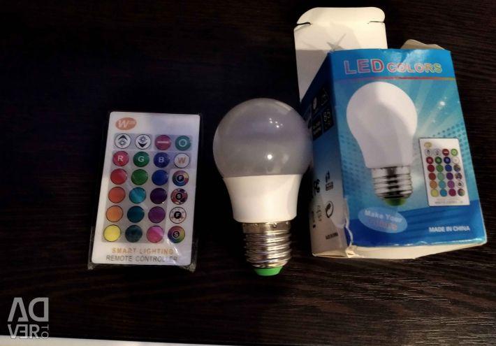 Remote control lamp