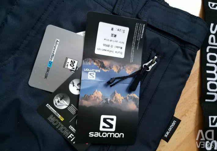 SALOMON ski pants ?