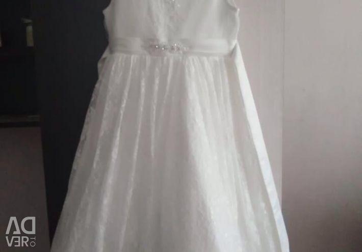 White dress for a girl