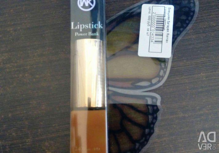 Remax Lipstick 2600mah external battery