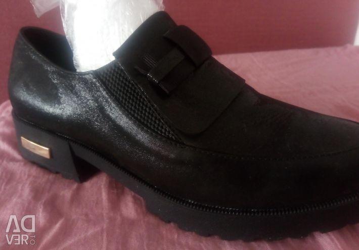 Νέα Δερμάτινα Παπούτσια