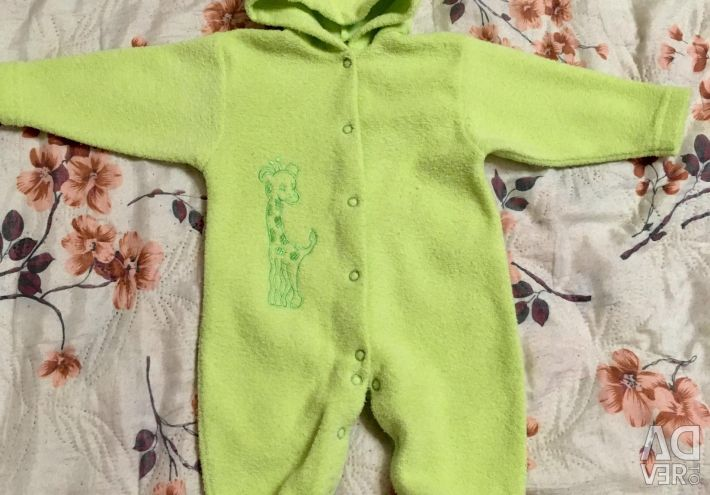 Overalls for the boy 3-9 months