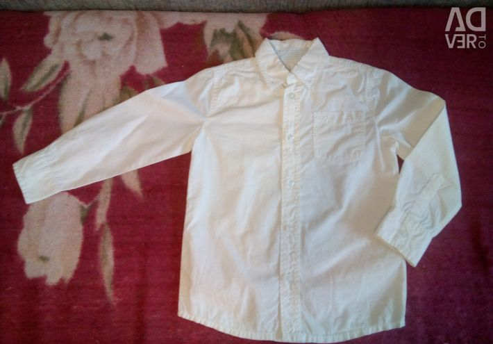 Рубашки на мальчика для садика или школы