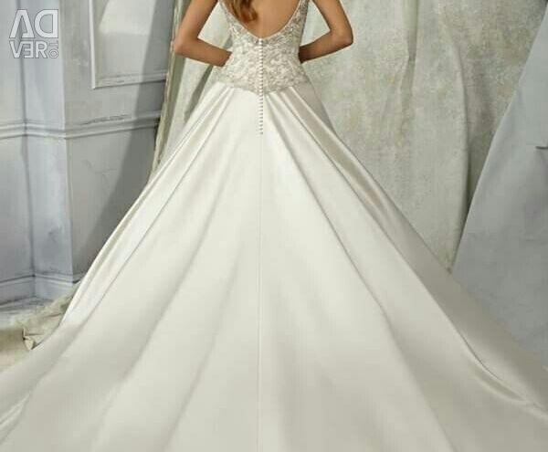 Wedding dress satin Angelina Madelyn Gardner