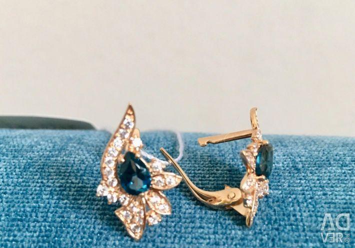 Setul de aur. Cercei și inel