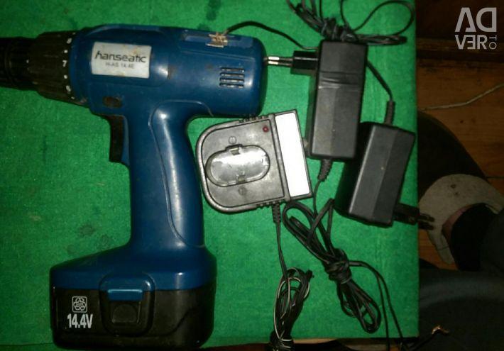 Hanseatic screwdriver 14.4v.