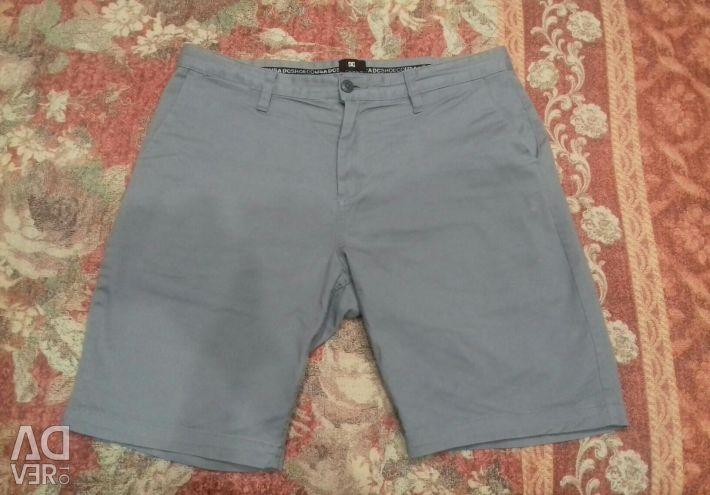 Men's shorts DC, size 33
