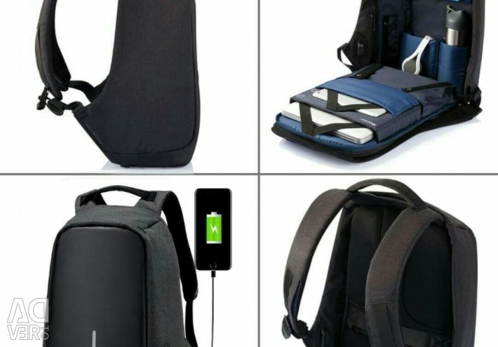 Backpack anti-power + power bank