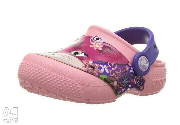 Sabco Crocs Fun Lab Girl's Fox Clog -34-35 / J3