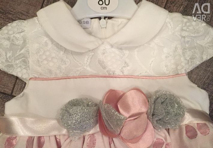 Dress for 1 year size 80
