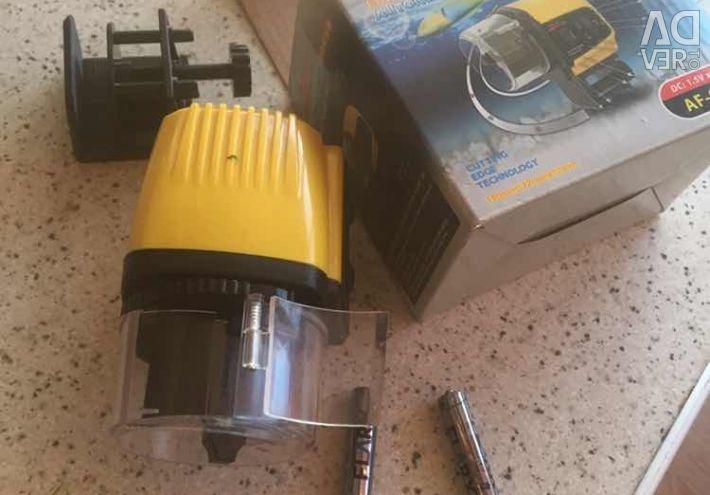 Електрон годівниця для акваріумних рибок