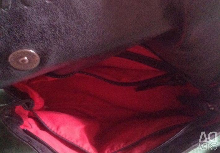 Δερμάτινη τσάντα που χρησιμοποιείται στην Ιταλία