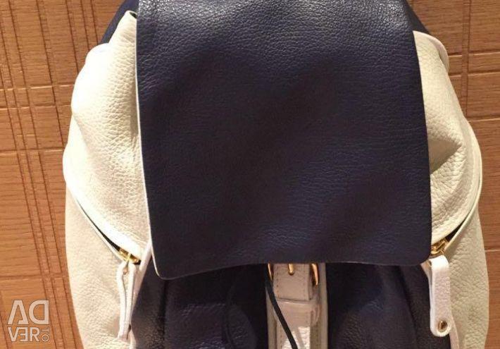 Кожаный рюкзак Bruno Rossi