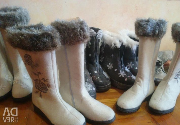 Snow Maiden's Shoes