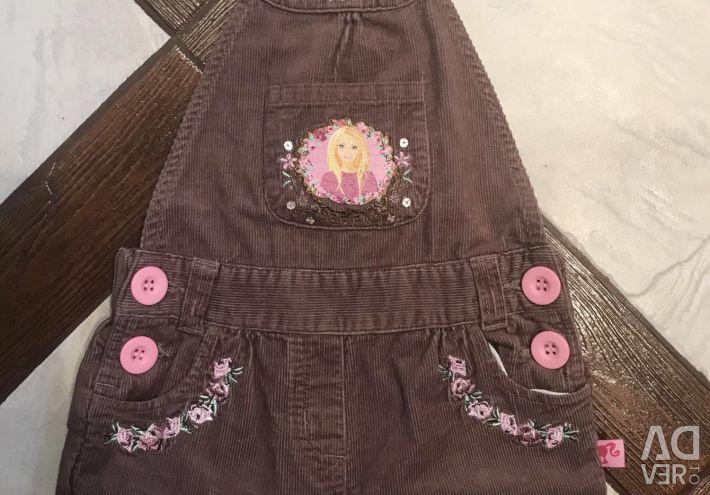 Shorts Barbie Jumpsuit Nou