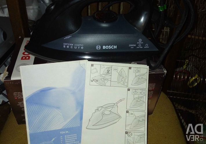 Iron Bosch TDA 2430 Sensixx cosmo