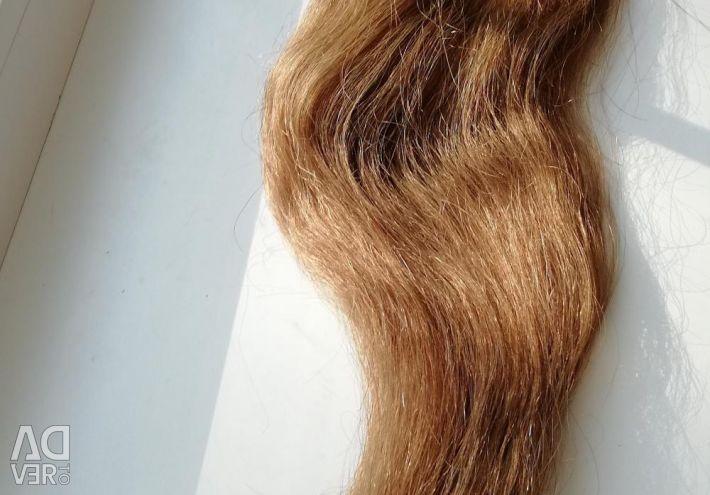 Tail of natural hair