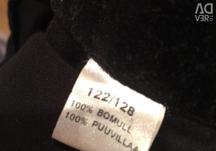 Jacket short, dense velvet