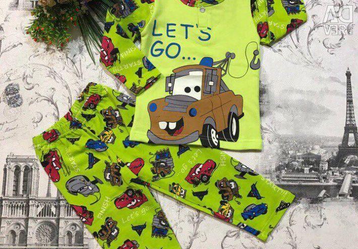 Pajamas for a boy