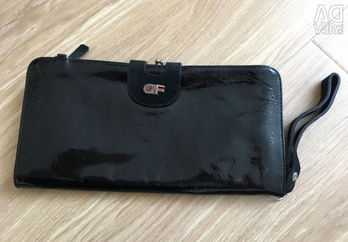 Black clutch with two compartments Gianfranco Ferré