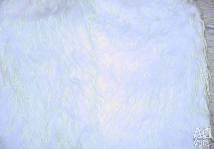 Vest of artificial fur