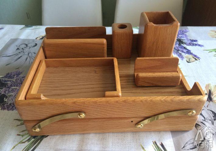 Stationery desk set