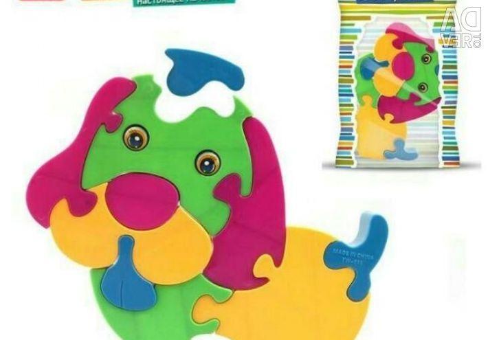 Designer puzzle Doggie
