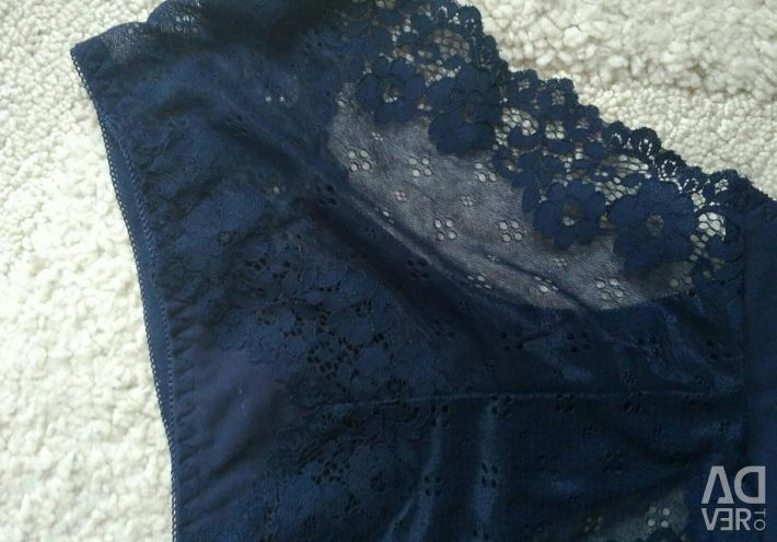 Cotton floss with lace 48-50 size.